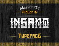 INSANO - TYPEFACE