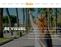 Nectar WordPress theme - Slider