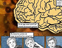 Dementia - documentary comic pages