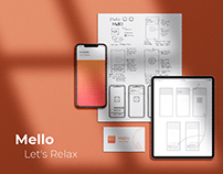 Mello - Let's Relax (App Case Study)
