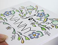 Card Project 2012 - Handmade