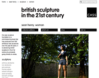 sculpture.org.uk Website Development 2011