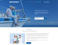 Smile Insurance | Website redesign