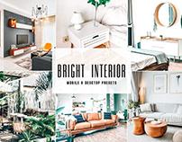 Free Bright Interior Mobile & Desktop Lightroom Presets