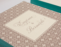 Didi & Bernardo Wedding Invitation