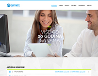 Youth Cooperative homepage web design