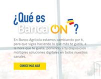 Banca ON - Micrositio