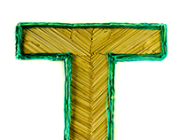 T experimental typography