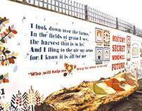 Hands On Windmill Gardens. Mural