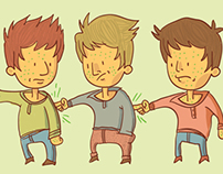 People vector illustrations