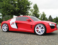Forza 3 Audi R8 – Paper SuperCraft