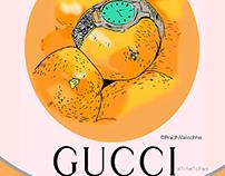 Gucci TimetoParr illustration