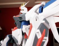 Freedom Gundam – 4ft Papercraft