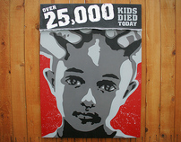 25,000 – Stenciled Spray Painting