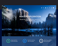 Winterland Theme Bootstrap