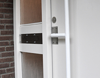 Letter Box and Front Door Handle