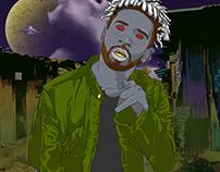 "Thy Kyng ""Slumville Transylvania"" Album Art"