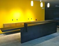 Raw finish Mild Steel Desk