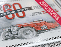 GT Cool Mints Packaging