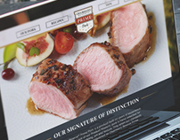Chairman's Reserve® Prime Pork Website Concept