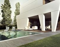 Private villa render