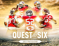 49ers 2012 Playoffs - Quest for Six Campaign