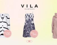 Vila spring campaign design for A&G