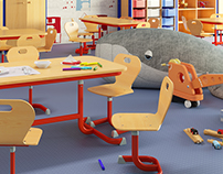 ALEX Furnishing / day school - kindergarten