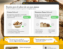 E-commerce Website Proposal: Gourmet bakery