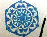 Mandala Design Contruction
