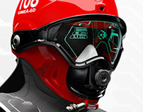 C-Thru; Smoke Diving Helmet