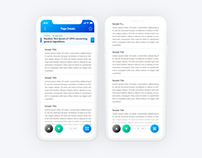 Free Adobe Xd Template with Interaction
