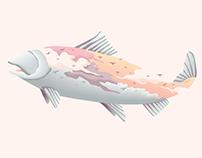 Blind salmon
