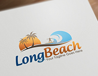 Long Beach | Logo Template
