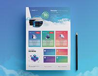Cloud Hosting Flyer