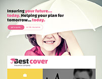 Landing Page PSD to HTML