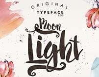 Moonlight script font