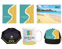 Shoreline Logo, Business Stationery, & Marketing Tools