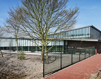 Public pool complex, Wassenaar, the Netherlands