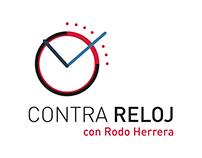 """Diseño de logo """"Contra Reloj"""" Rodo Herrera."""