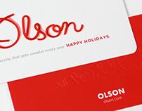 Olson Holiday Card