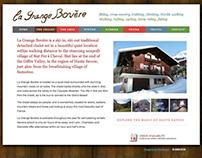 La Grange Bovere chalet website