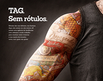 Ad for TagCom Magazine - Portfolio for 2013