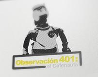 Observación 401: El Cafenauta