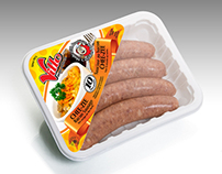 Package Design: Vitto Sausages