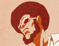 Grandmaster Bushido Brown Poster