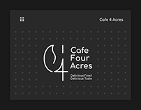 Cafe 4 Acres - Branding