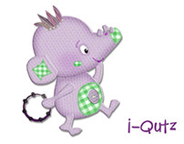 I-Qutz Character Designs