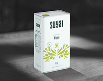 Suyai Olive Oil - packaging design