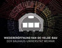 Opening Ceremony Van de Velde Building